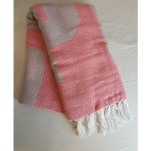 PINK Victoria's Secret Logo Festival Throw Blanket